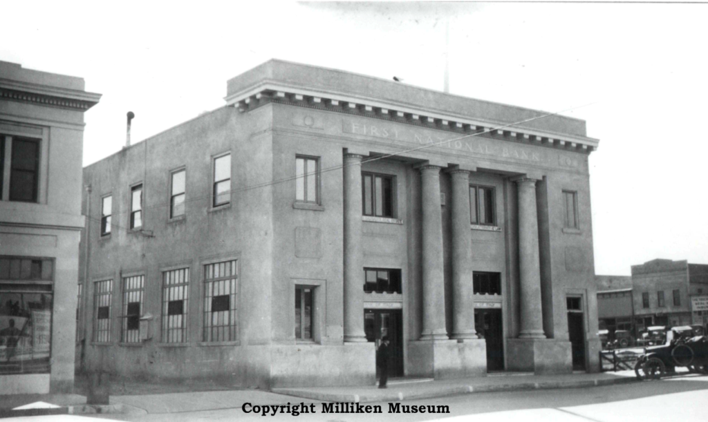 First National Bank 1930s