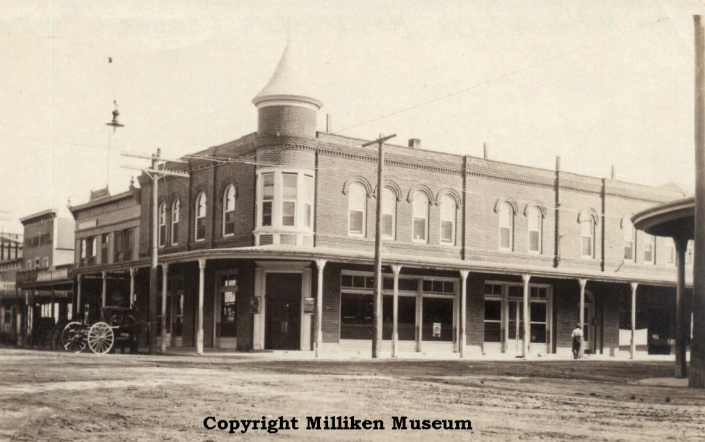 Bank of Los Banos pre-1900s (Located at the southeast corner of Sixth/I Streets)