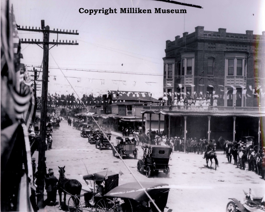 May Day Parade 1915 (At the intersection of Sixth/I streets, looking west down I Street)