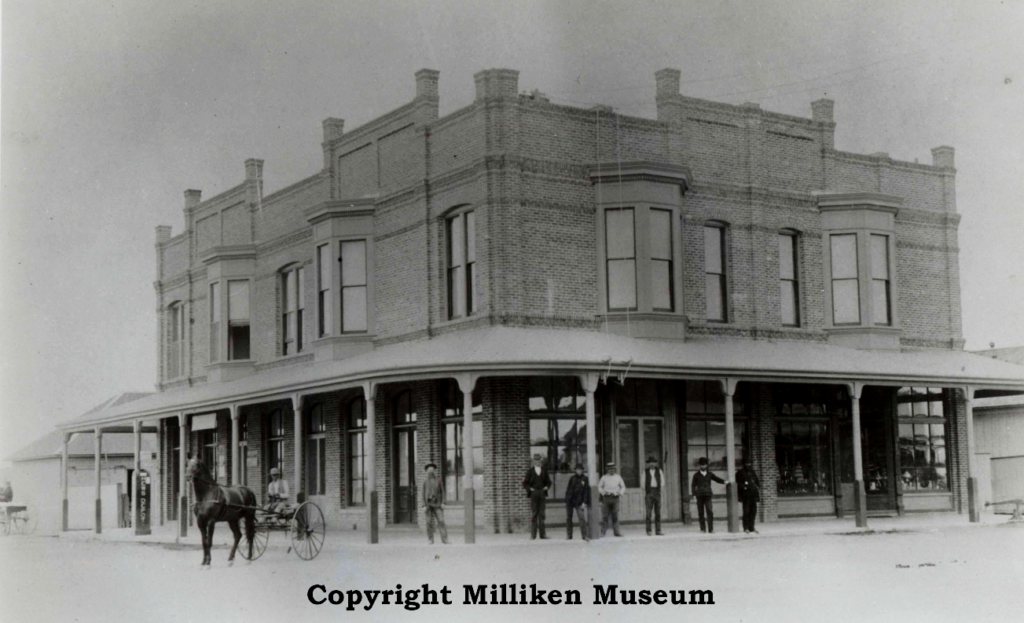 Miller & Lux Department Store 1895 (Located at the southwest corner of Sixth/I Streets)