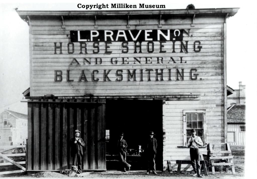 L.P. Raven Shop 1902