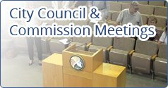 City Council Commission Meetings